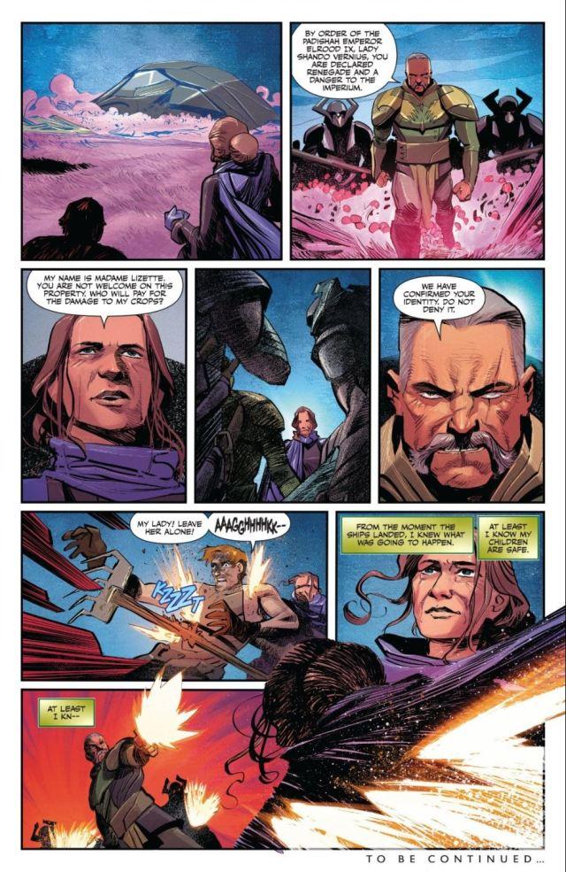 Dune House Atreides #8 death of Lady Shando