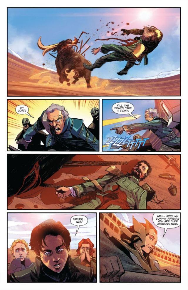Dune House Atreides #8 death of a duke