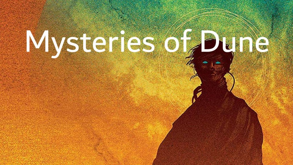 Mysteries of Dune title card