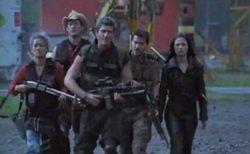 Das V-SAN-Team ...