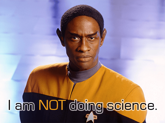 Not-science