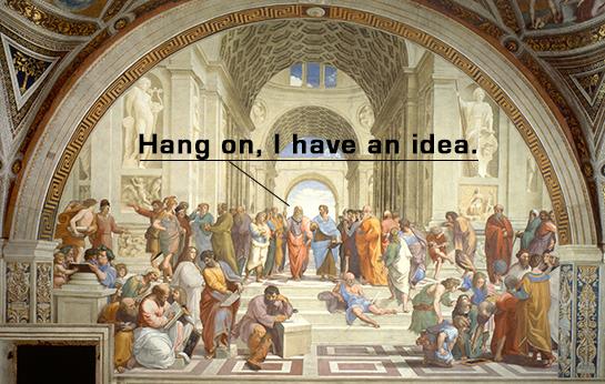 Hang-on-idea