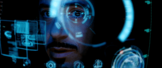 An interpretive view of Tony's experience, from Iron Man (2008).