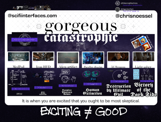 Gorgeous + Catastrophic presentation card