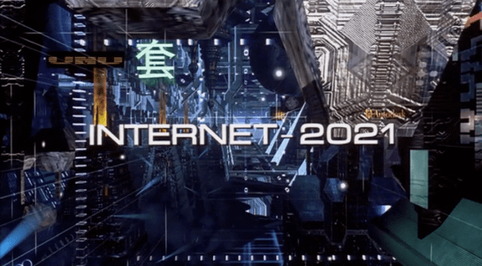 Internet 2021 display