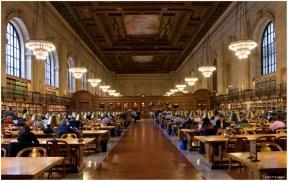NY Public Library Reading Room