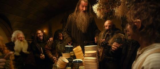 Hobbit AUJ 04 Dwarves laughing Bag End