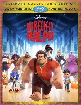 Wreck It Ralph Blu-ray DVD cover art