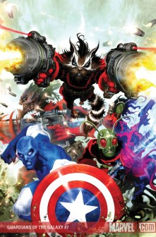Guardians of the Galaxy issue 7 cover