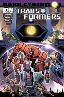 Transformers Dark Cybertron cover