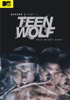 Teen Wolf s3 p1 dvd cover