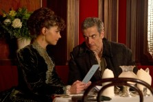 Picture shows: Clara (Jenna Coleman) and The Doctor (Peter Capaldi)