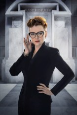 Picture shows: Keeley Hawes as Ms Delphox