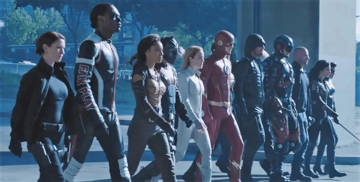 The Arrowverse crossover event 'Crisis on Earth X' gets an epic sizzle reel.