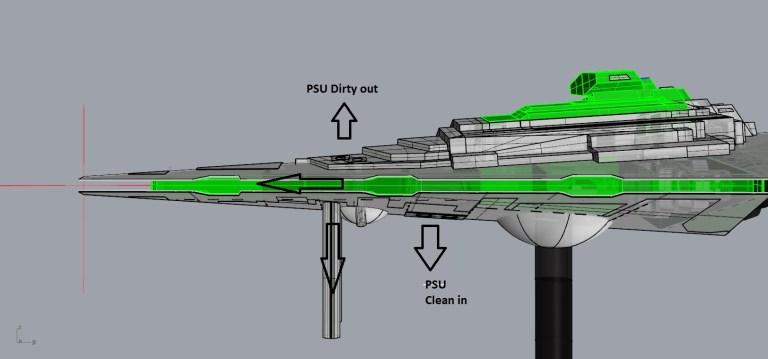 thruster setup