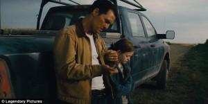 Cooper and his daughter Murph