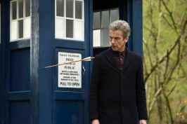 Doctor inspects an arrow