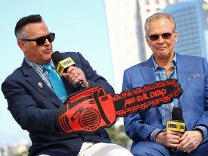 Bruce Campbell and Lee Majors Ash Vs Evil Dead