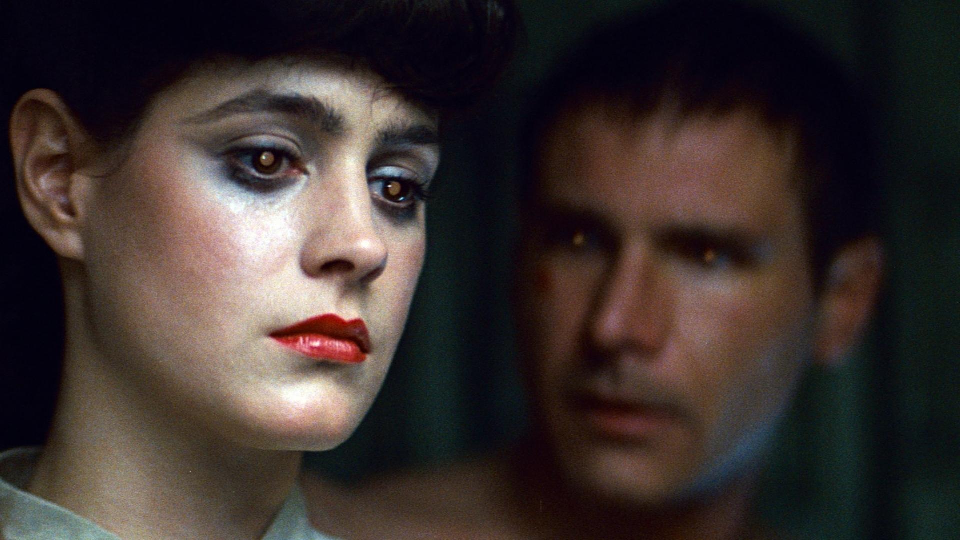 Rachael Rosen og Deckard i Blade Runner