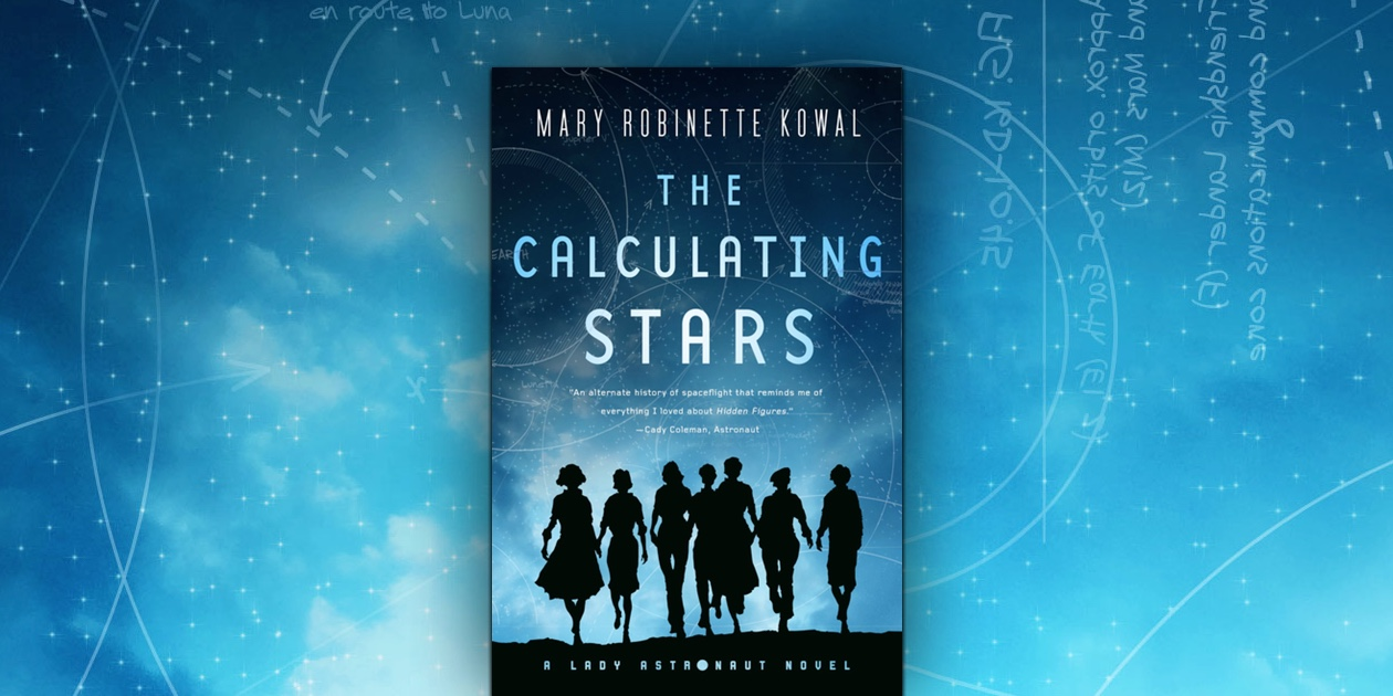Cover af the calculating stars