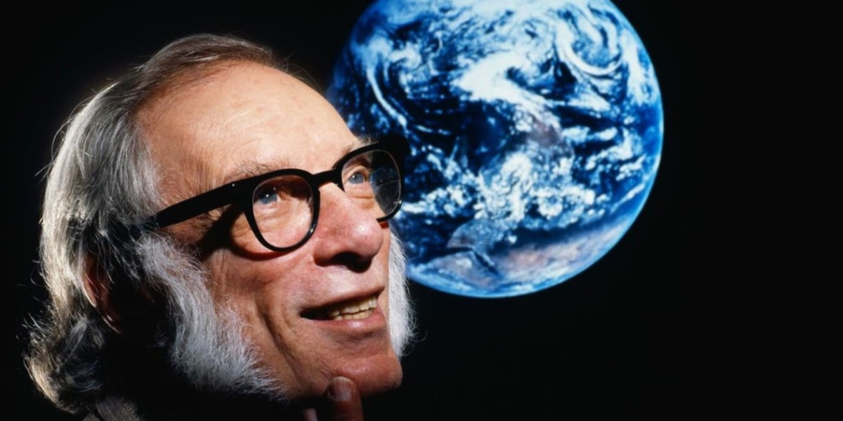 Isaac Asimov portræt