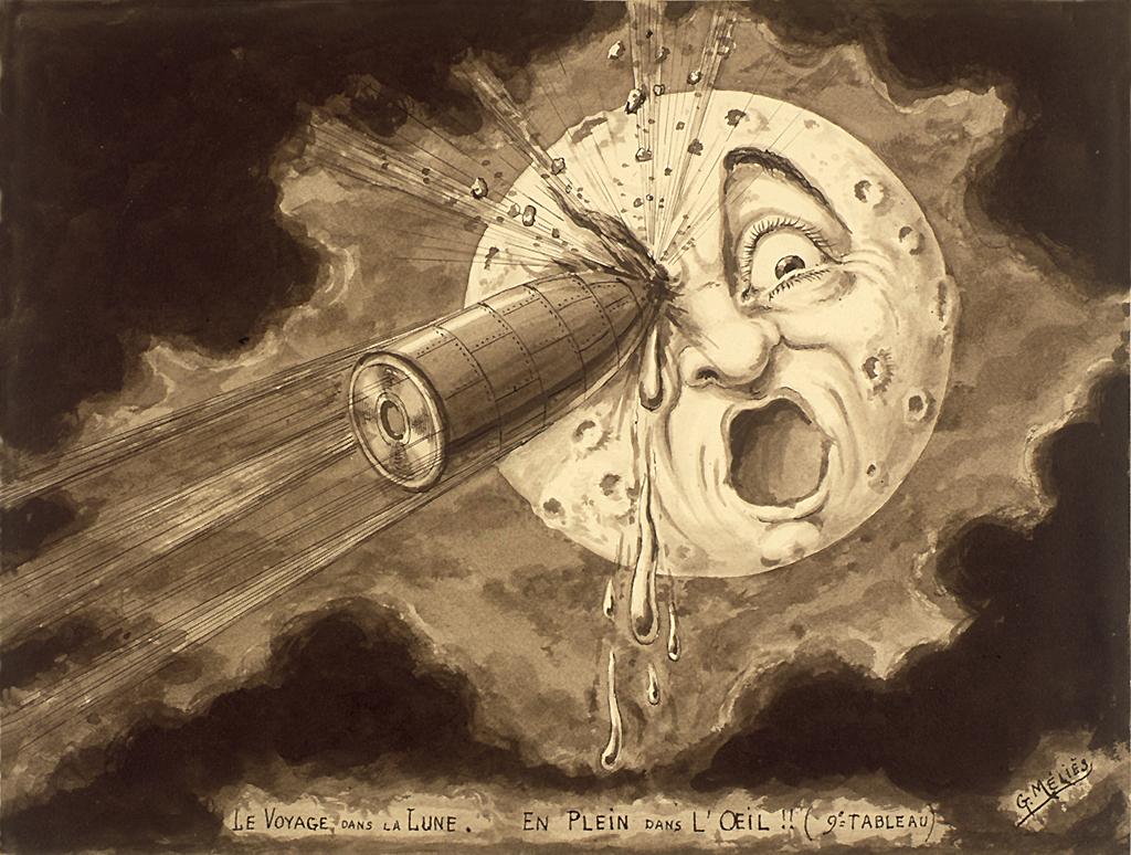 Rejsen til Månen billede