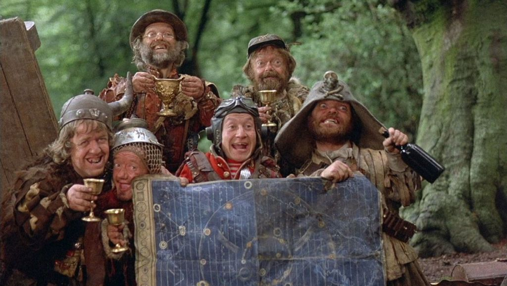 cast of the 1981 film time bandits