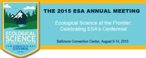 Picture of ESA Centennial Meeting emblem:https://www.esa.org/esa/meetings/annual-meeting/