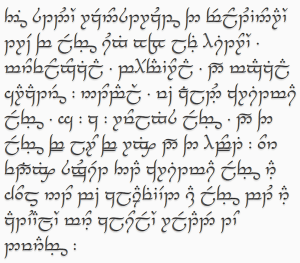 abstract in elvish