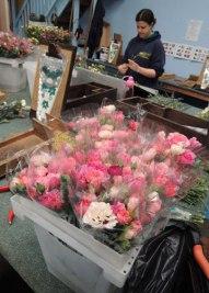 Sorting flowers
