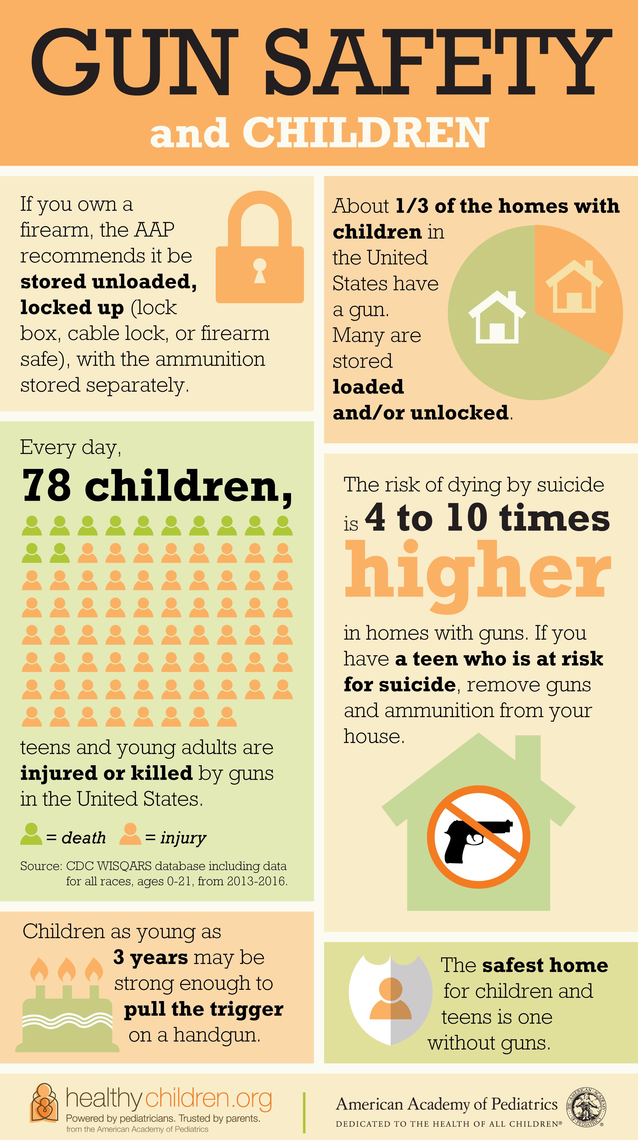Gun Safety And Children Risks And Responsibilities Of Gun
