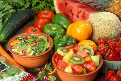 Fruits and vegetables not supplements and vitamins