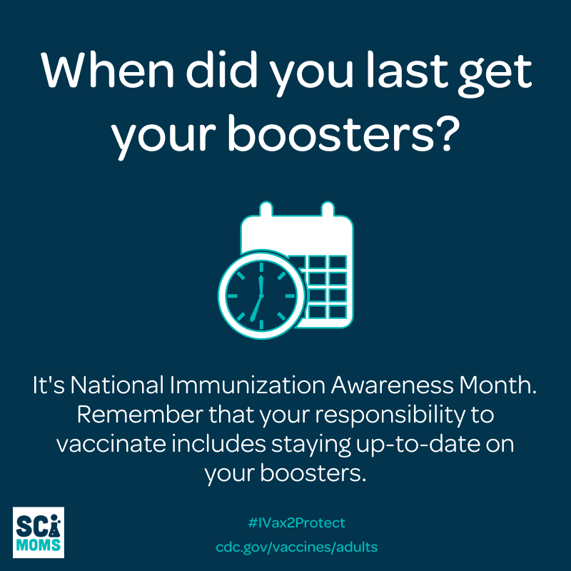 When did you last get your boosters? Remember that your responsibility to vaccinate includes staying up-to-date on your boosters. Learning about the social consequences of the anti-vaccine movement can help us stay up to date with our boosters and shots.