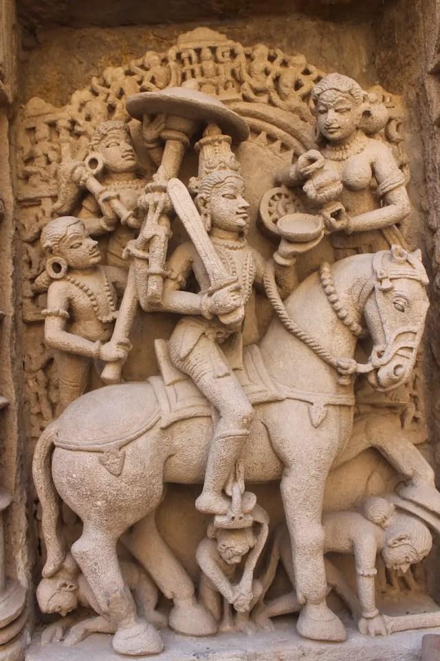 Indra and Vishnu