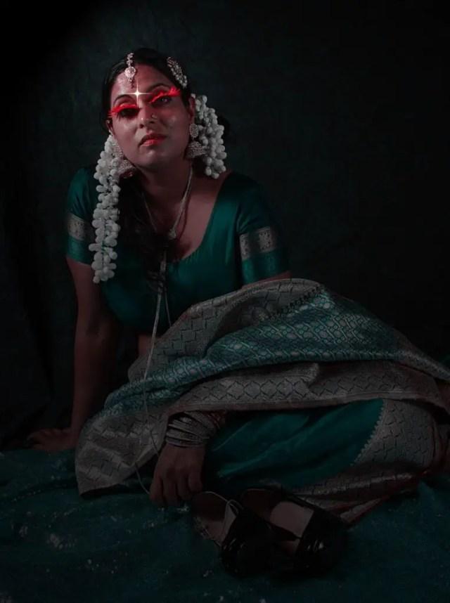 Image of Draupadi for showing no relation between Draupadi and Karna