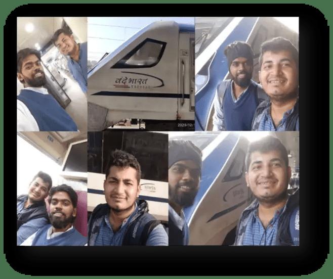 vande bharat train experience