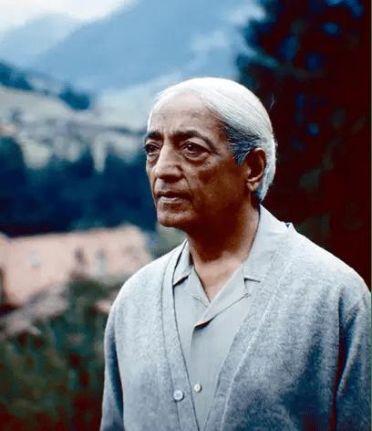 Jiddu Krishnamurthi thought