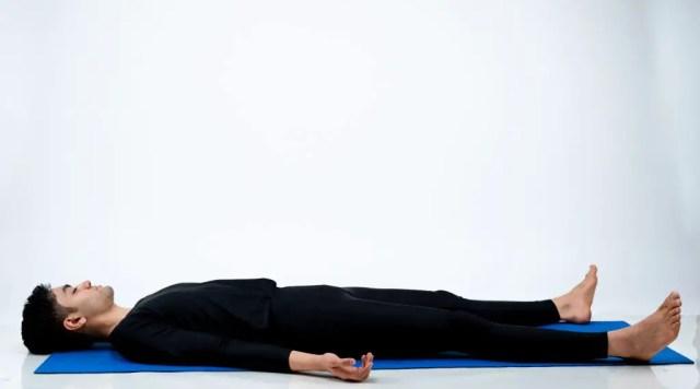 Savasana pose: Meditation for Yoga