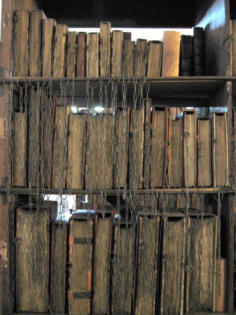Chaîne Hereford Cathedral Chained Library