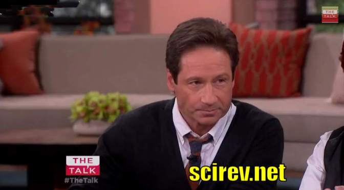 David Duchovny on The Talk, Talks about new X-Files
