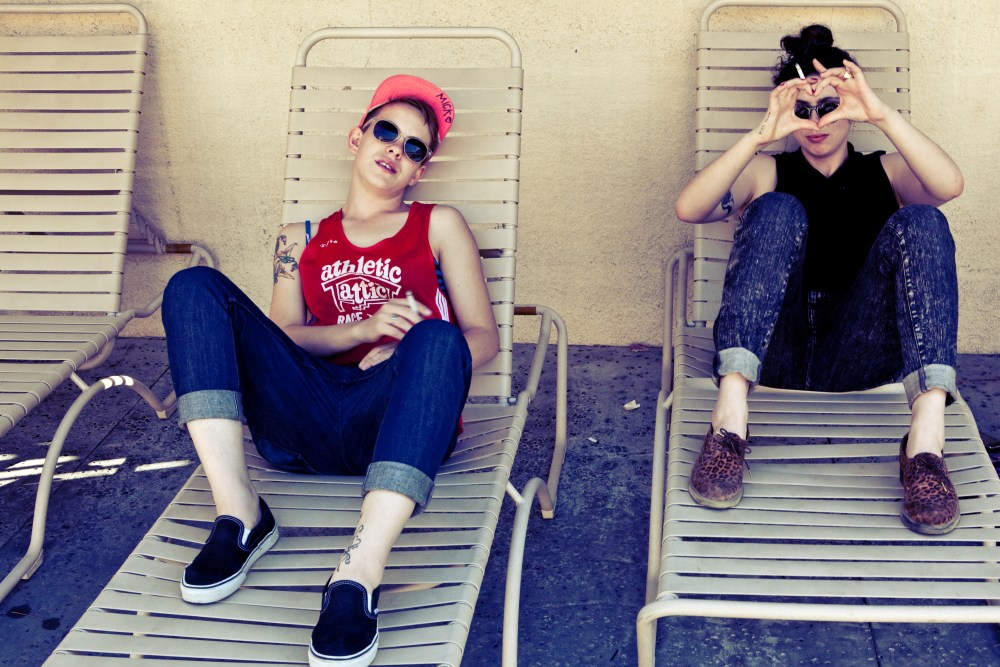 street style palm springs: the morning after
