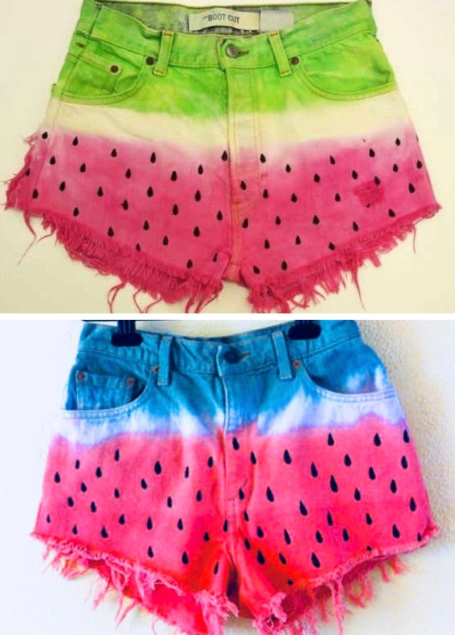 watermelon shorts