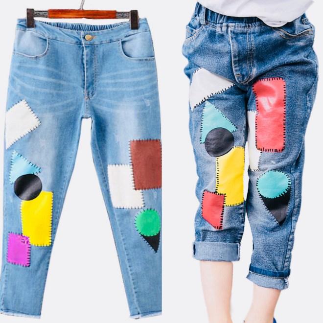 patch jeans 2018