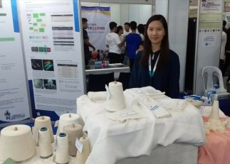 Booth of the Philippine Textile Research Institute Photo 1 - Science and Digital News
