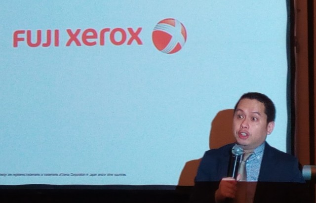 Philip Paylangco manager Software Product Fuji Xerox Philippines - Science and Digital News