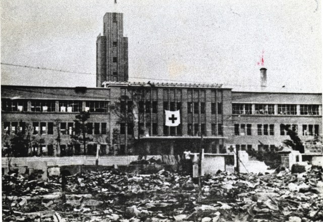 Atomic Bomb survivors' hospital in Hiroshima