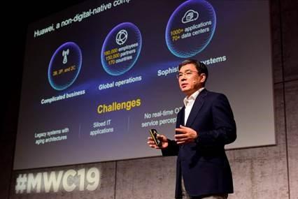 Huawei exec at MWC