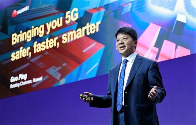 Huawei Guo Ping at MWC 2019