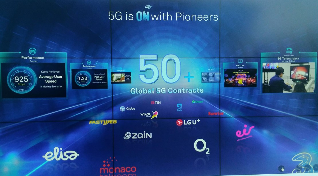Huawei 5G contracts
