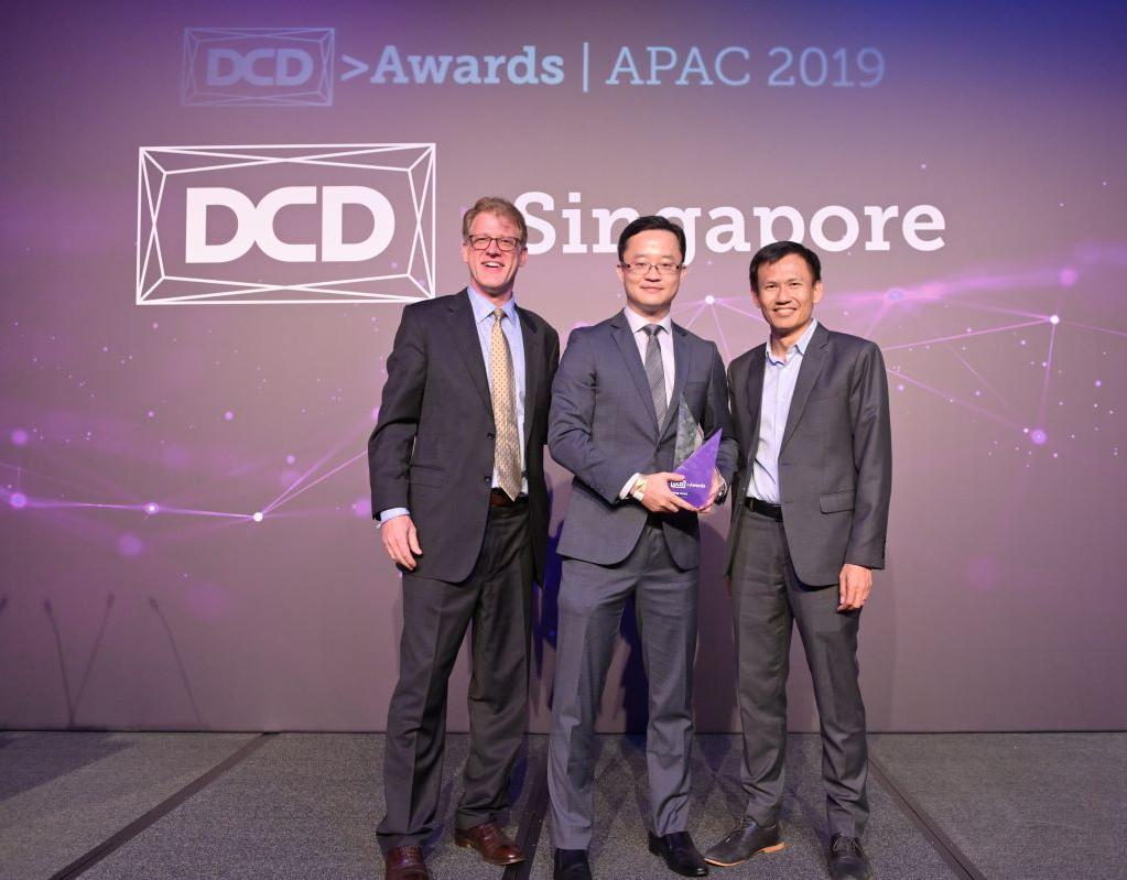 Huawei wins at DCD